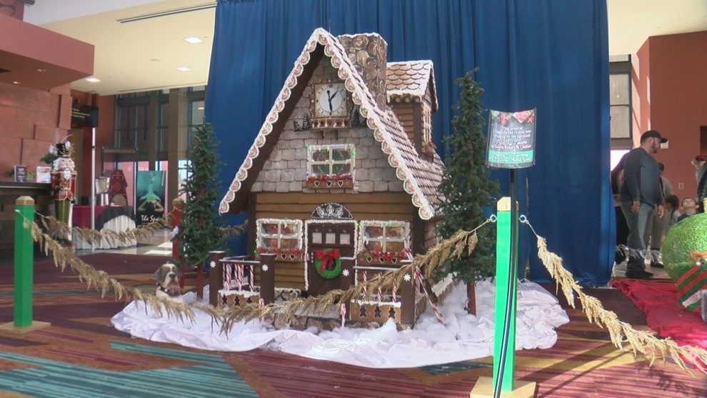 Isleta Resort and Casino unveil famous gingerbread house
