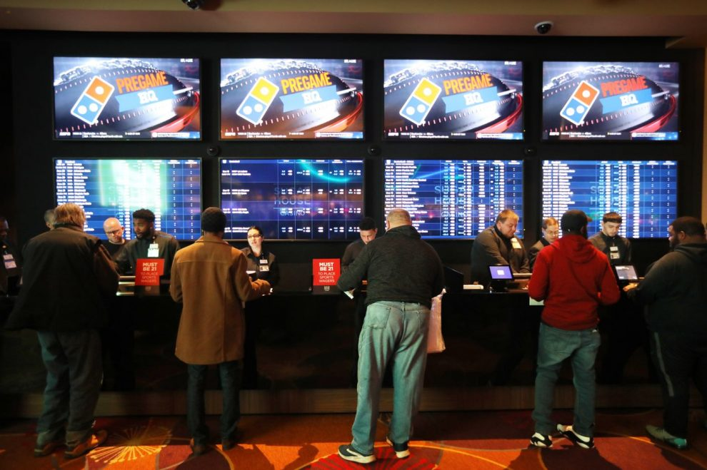 Sports betting begins at SugarHouse Casino in Philadelphia