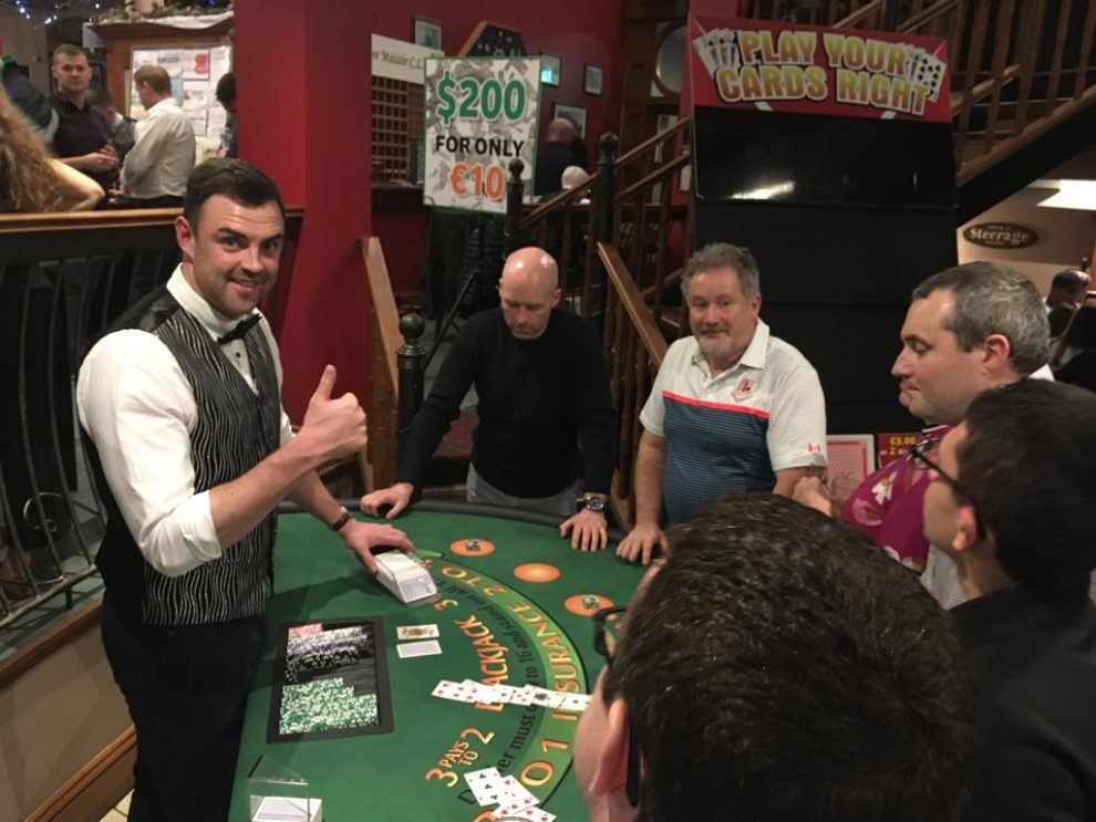 Four Masters awards and Casino night an overwhelming success.