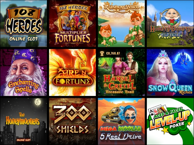 Play Microgaming Quickfire Slots at Cleopatra Online Casino