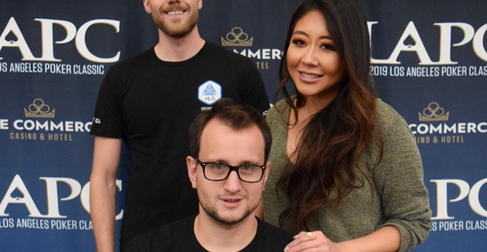 Rainer Kempe And Maria Ho At It again! The Duo Wins The $25,000 High Roller Events At LAPC