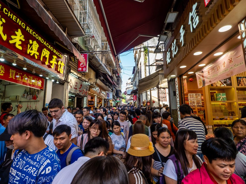 Limited Tourism - Macau Legislative Assembly Agrees To Discuss Proposal to Limit Number of Tourists Visiting Macau