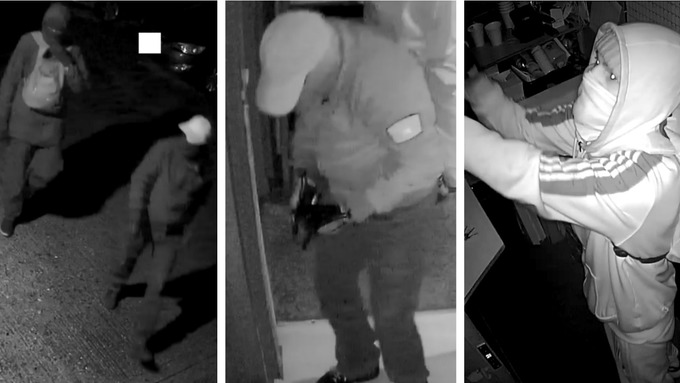 Suffolk Police Releases CCTV Images Of Three Involved In Casino Robbery. Courtesy: Suffolk Police