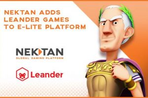 Nektan Inks New Partnership With Leander Games