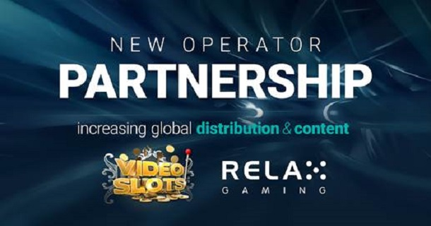 Partnership Agreed Between Relax Gaming And Videoslots