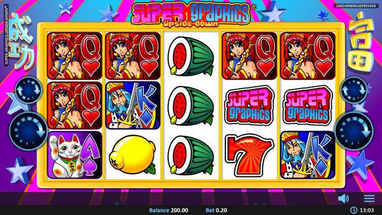 New Refreshing Look For Realistic Games Slots: Super Graphics Upside Down