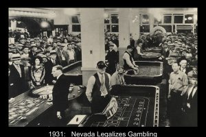 Casino Gambling Legalized In Nevada Today in 1931