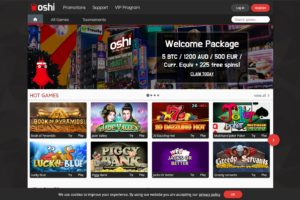 Oshi Online Casino Review