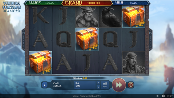 Vikings Fortune - Hold And Win