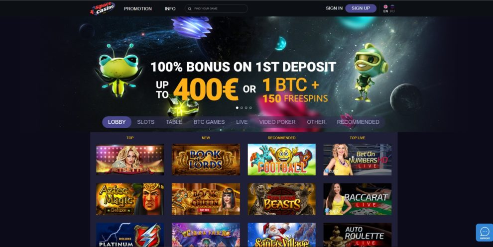 Space Casino Review