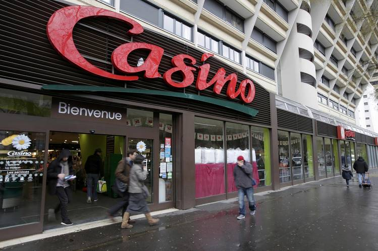 After Moody Slashes Credit Ratings, French Retailer Casino's Shares Fall In Early Trading Session Today