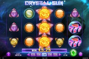 New Slot Release By Play'n GO: Crystal Sun