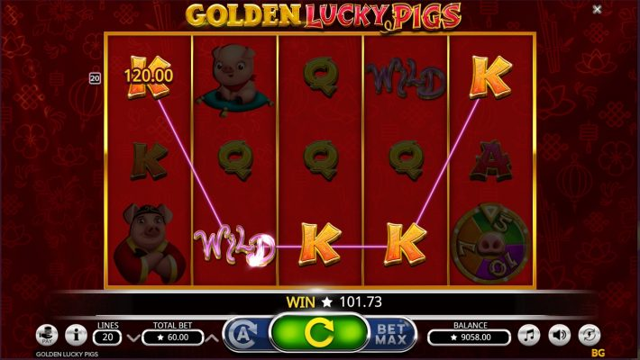 Golden Lucky Pigs Info