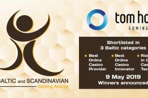Tom Horn In The Category Finals Of The Baltic And Scandinavian Gaming Awards