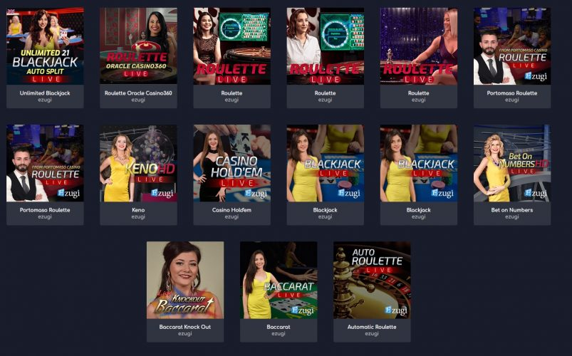 WildTornado Online Casino Adds Live Dealer Games