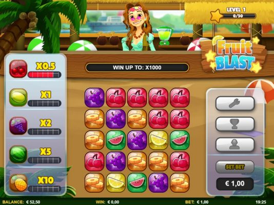 New Slot Release By Skillzzgaming: Fruit Blast
