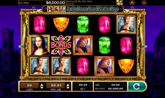 New Slot Release By High 5 Games: Da Vinci
