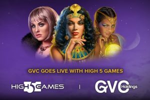 High 5 Games Launched its Portfolio Of Premium HTML5 Slot Games With GVC Holdings