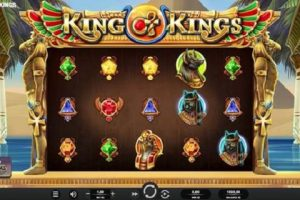 New Slot Release By Relax Gaming: King Of Kings