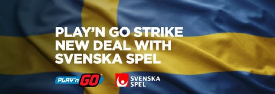 Play'n GO Announce Svenska Spel Sport & Casino Partnership Deal