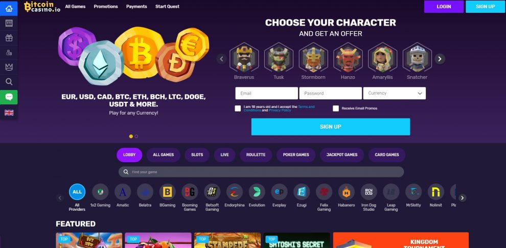 Bitcoin Online Casino Review