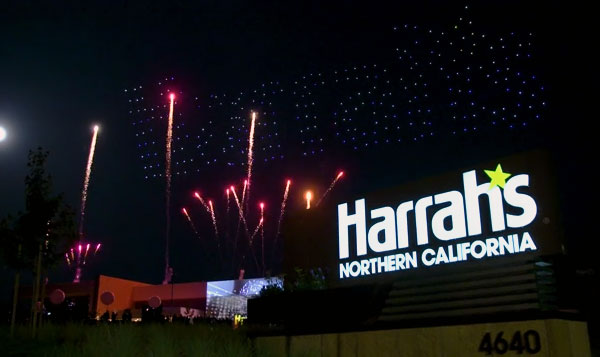 Caesars Harrah's Northern California Casino Hosts A Grand Opening Ceremony