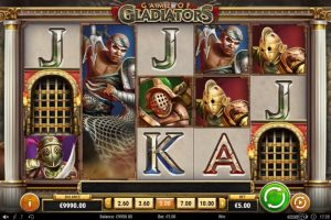 New Slot Release By Play'n GO: Game Of Gladiators