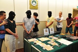 International Online Gambling Ring Busted In China