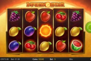 New Slot Release By Play'n GO: Inferno Star