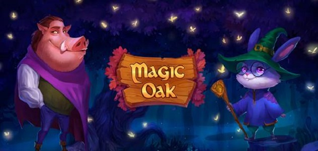 New Online Slot Release By Habanero: Magic Oak