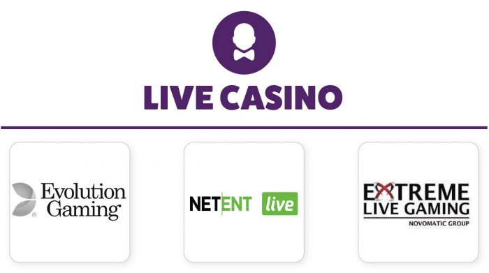 Frank & Fred Casino Live Gaming Providers