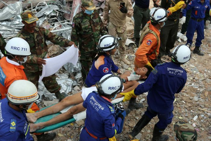 Cambodia: Five Chinese Amongst Seven Charged With Involuntary Manslaughter In The Building Collapse