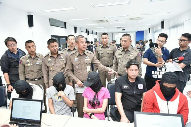 Nine Chinese Nationals Arrested In Bangkok For Alleged Involvement In Illegal Online Gambling