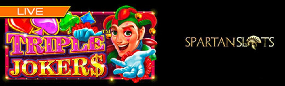 New Slot Added At Spartan Slots Online Casino - Triple Jokers™