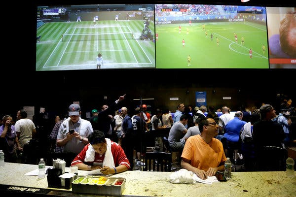 US Gambling: 9 Billion Placed In Bets On Sporting Events So Far