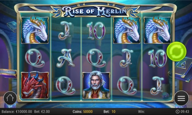 New Slot Release By Play'n GO - Rise of Merlin
