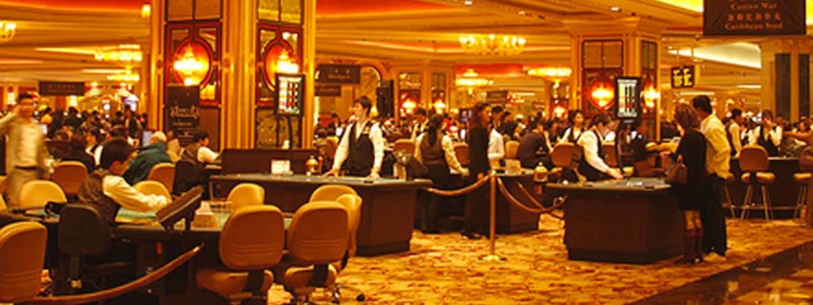 Macau: Gross Gaming Revenue Up 2 Percent In May