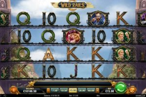 New Slot Release By Play'n GO - Wild Rails