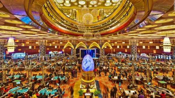 Casino Revenue In Macau Jumps 5.9 Percent