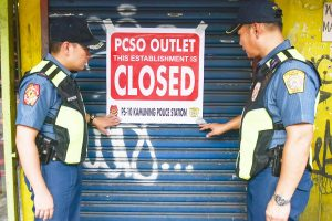 National Police Gets Into Action, Shuts Lotto And All PCSO Outlets In The Philippine