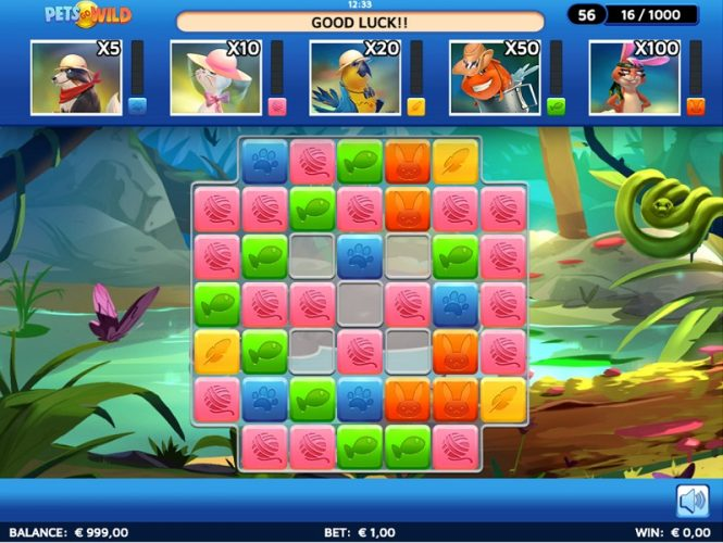 New Slot Release By SkillzzGaming: Pets Go Wild