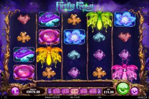 New Slot Release By Play'n GO - Firefly Frenzy