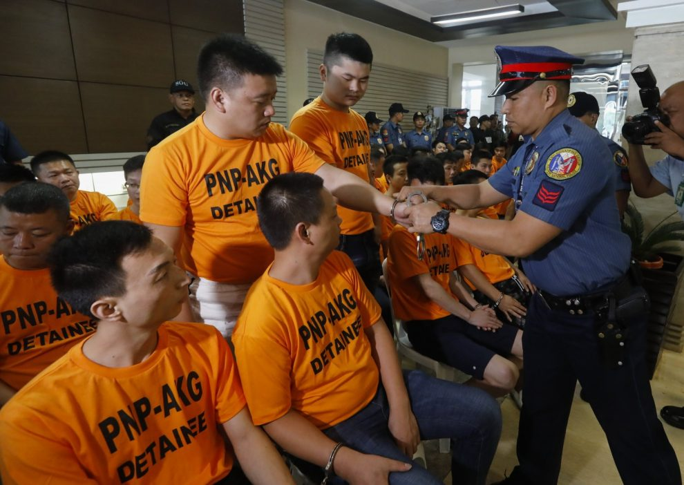 Philippine National Police (PNP) Serious About Kidnappings Related To Gambling