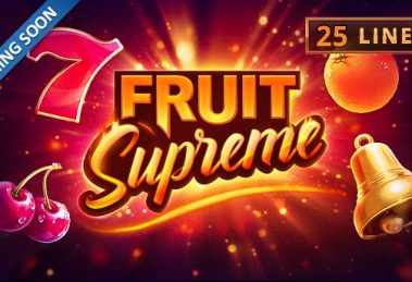 Summer Just Got Hotter With Playson August Slot Release - Fruit Supreme: 25 lines