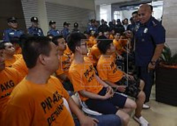 Philippines Anti-Gambling Group Arrests Four Chinese In Kidnapping Over Gambling Debts