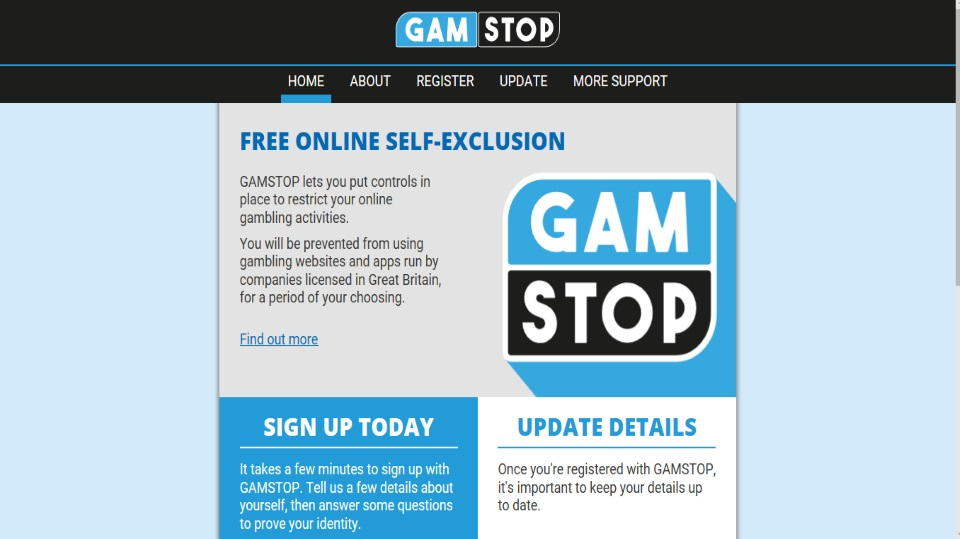 All UK Online Gambling Operators Will Have To Sign Up To The Gamstop Self-exclusion System