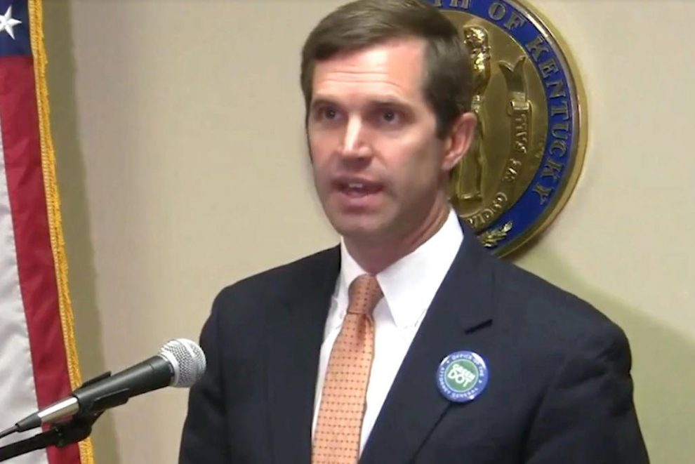 Kentucky: Democratic Candidate For Governor Andy Beshear Advocates Legalizing Casino Gambling And Sports Betting