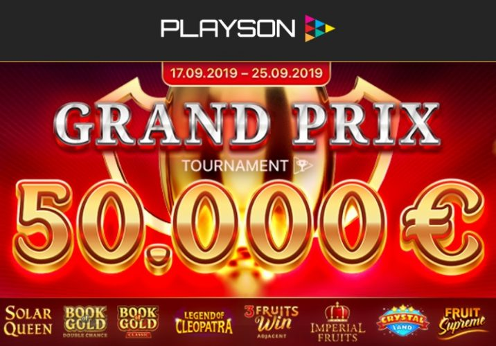 The Race Is On With Playson €50,0000 Grand Prix Giveaway