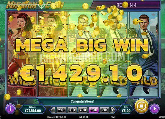 Get Up To 200 Free Spins To Play Mission Cash From Play'N GO At WildTornado Online Casino