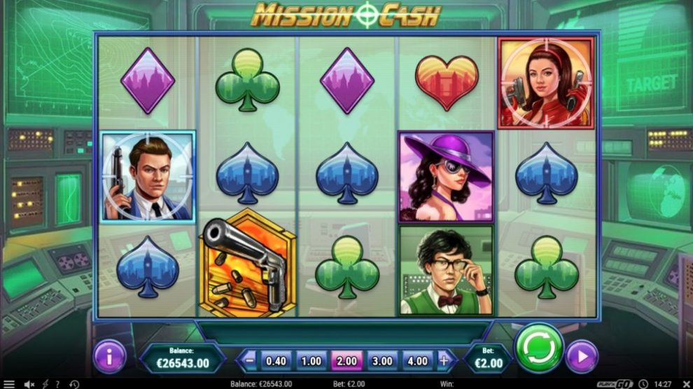 New Slot Release By Play'n GO: Mission Cash
